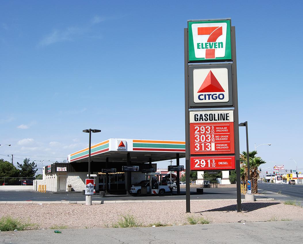 7 Eleven And Citgo Gas Station