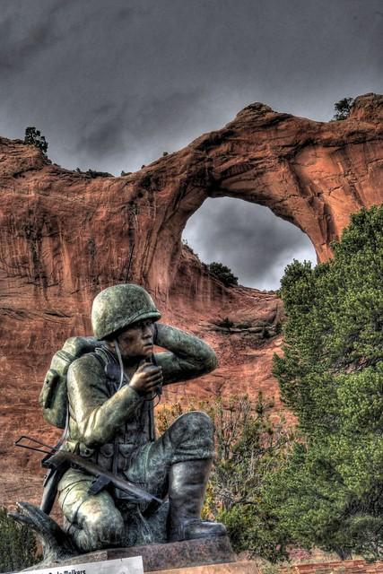 Navajo Code Talkers Memorial  Flickr  Photo Sharing