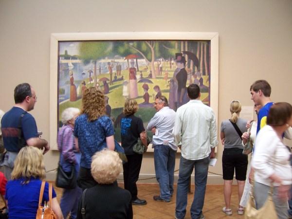 George Seurat Chicago Art Institute Intheburg