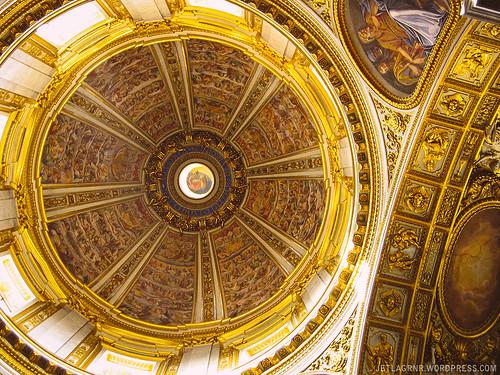 santa maria maggiore ceiling