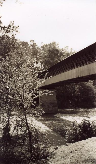 Horton Mill Covered Bridge Span, Blount County AL