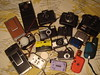 A Family Shot of My Dear Cameras