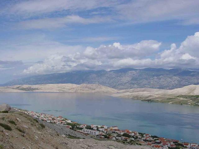Panorama di Pag