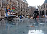 Frozen Stravinski Fountain | Flickr - Photo Sharing!