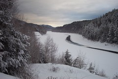 Connecticut River in Mid-Winter
