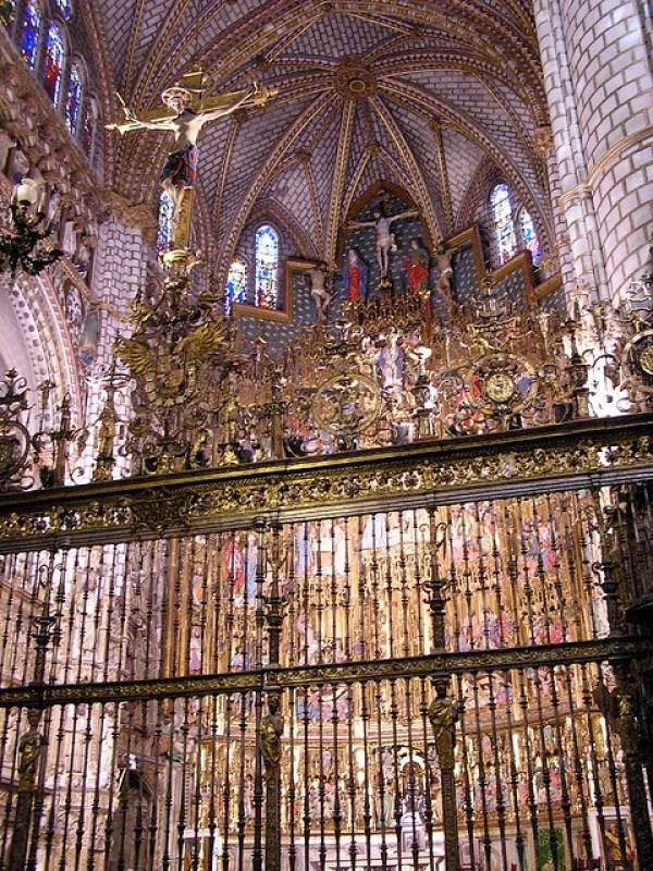 Retablo de Capilla Mayor y reja Catedral de Santa Maria de Toledo 17