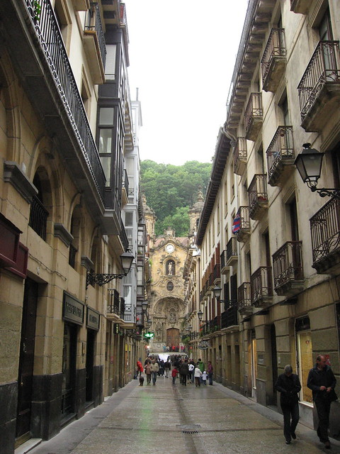 San Sebastian Spain  old town  cathedral  Flickr