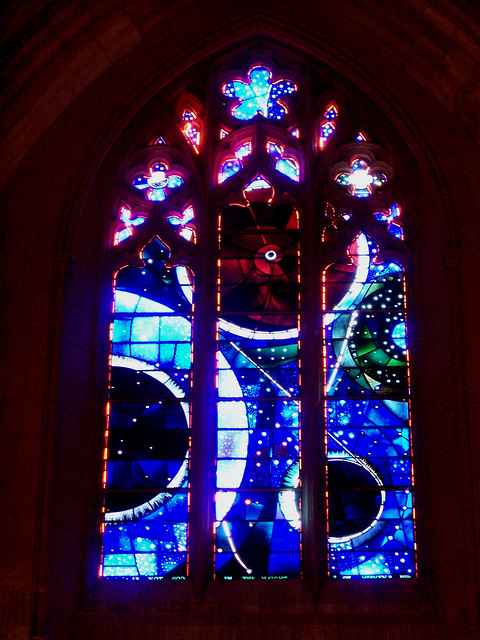 National Cathedral 25 The Moon Rock Window 9 041382