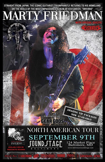 Marty Friedman at the Baltimore Soundstage