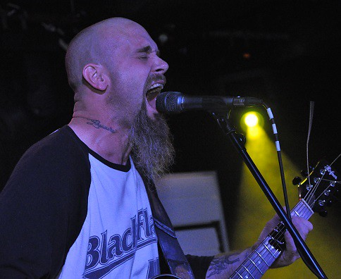 Nick Oliveri at Voodoo, Belfast, 14 July 2015