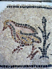 Mosaic floor fragment Syria or Turkey 4th century CE