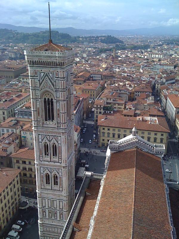 Florencia desde la cúpula