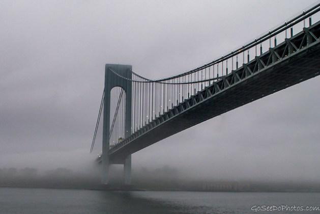 Bridge in Fog 22/100