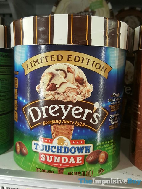 Limited Edition Dreyer's Touchdown Sundae (2017)