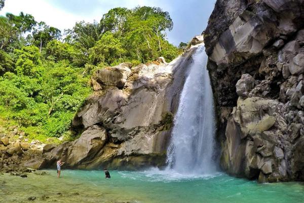 Mangku sakti waterfall 1