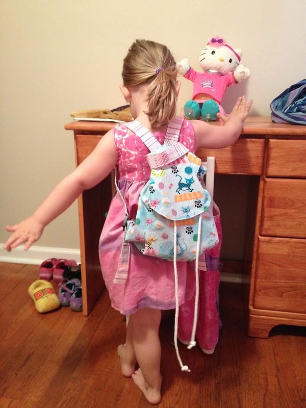 little girls backpack