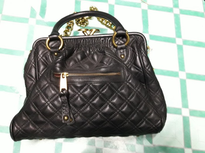 fake Marc Jacobs black Stam bag