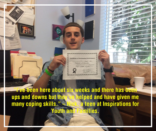 teen rehab graduate