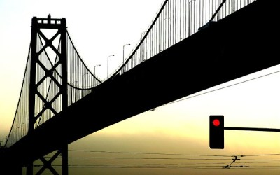 Bay Bridge Silhouette | Flickr - Photo Sharing!