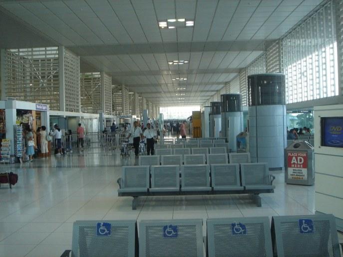 Manila airport, Philippines - Philippine Airlines terminal