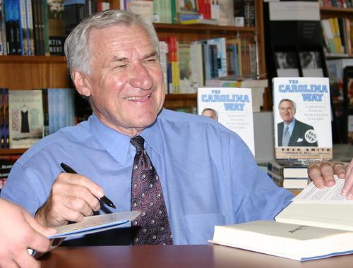 Former UNC Coach Dean Smith, Tar Heel Basketball Legend