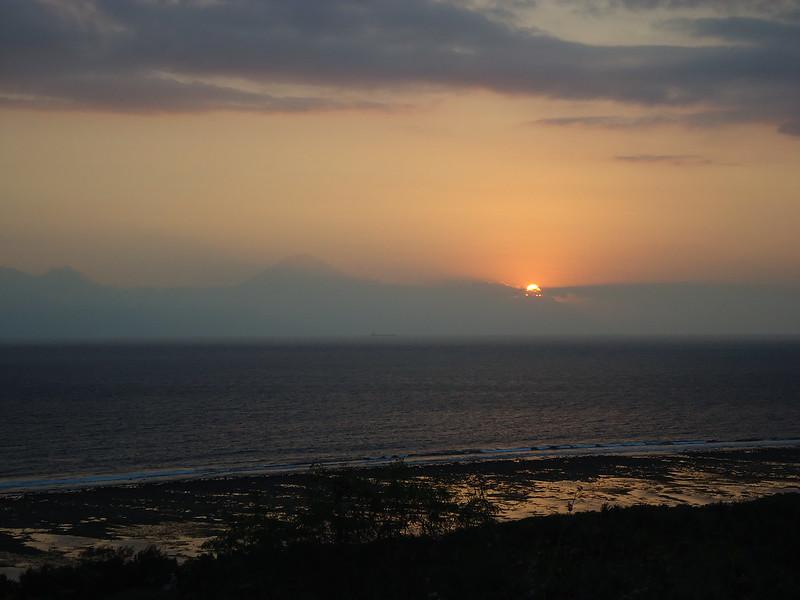 Atardecer en las islas Gili, Indonesia