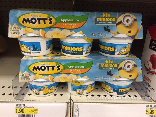 Mott's Minions Tropical Ba-na-na Applesauce
