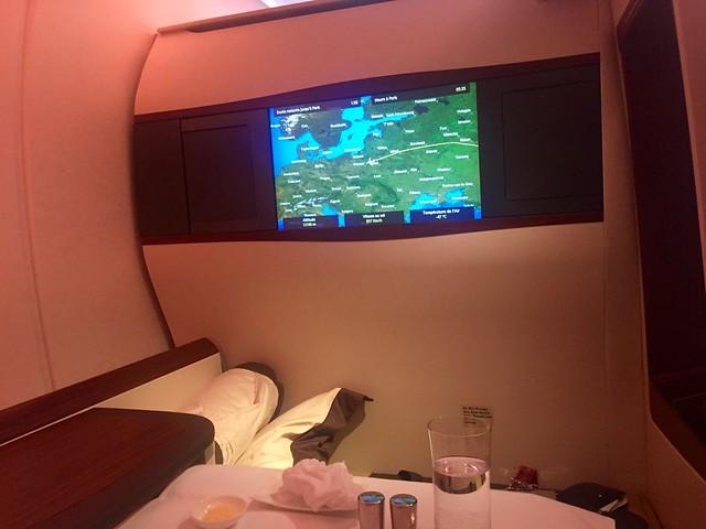 Petit déjeuner- Suite SIngapore Airlines