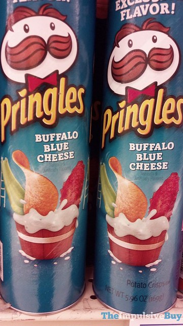 SPOTTED ON SHELVES: Pringles Buffalo Blue Cheese