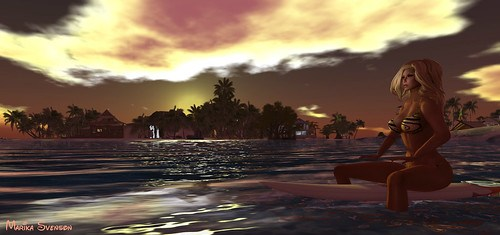 Surfing at Teahupo'o 1