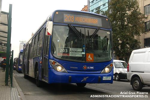 Transantiago - Subus Chile - Marcopolo Gran Viale / Volvo (CJRP31)