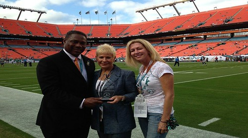 Miami Dolphins Inspirations for Youth Award