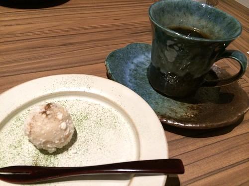 デザート&お茶@金蔦 六本木
