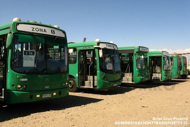 Transantiago - Comercial Nueva Milenio / Buses Vule