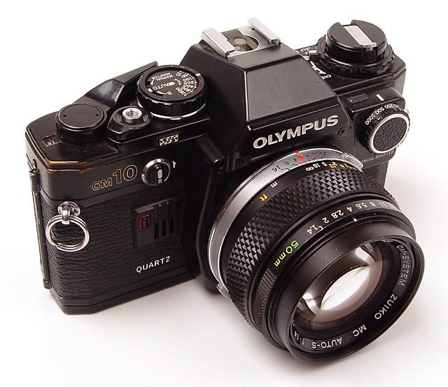 Olympus OM10 (w/manual adapter)