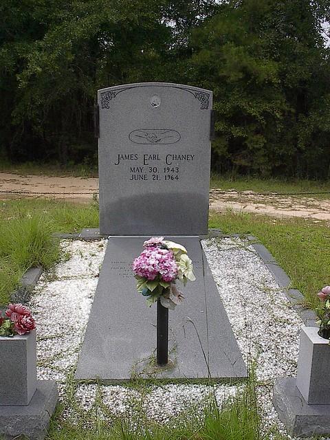 James Earl Chaney's Gravesite, Outside Meridian MS