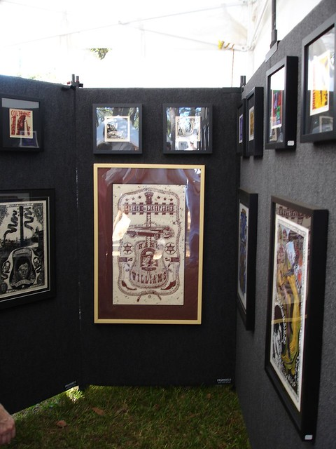 Kreg Yingst's Art, Kentuck Festival of the Arts, Northport AL