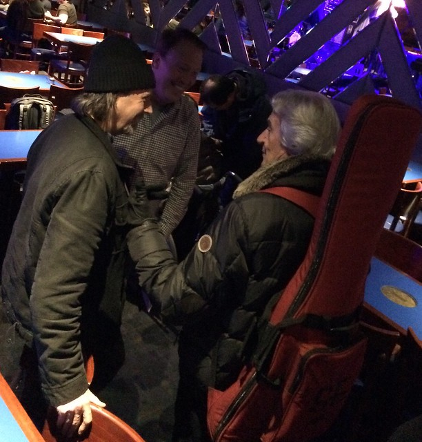 Speaking with the master - John McLaughlin at the Blue Note in NYC