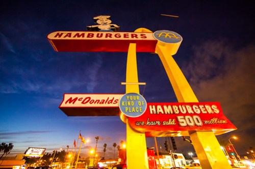 The Oldest-Operating McDonalds, Downey, CA