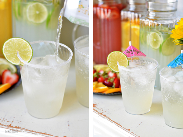 DIY Sparkling Cocktail Bar
