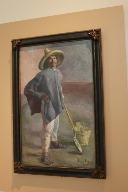 'The Bricklayer' by Diego Rivera, San Antonio Museum of Art