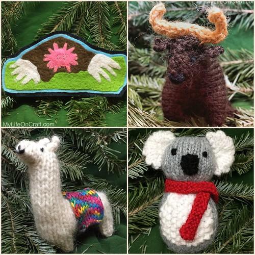 Handmade ornaments 13-16