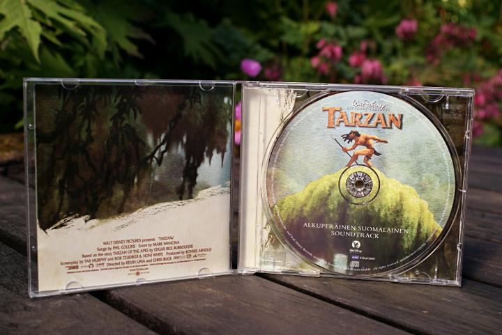 Suomalainen Tarzan soundtrack - Disnerd dreams