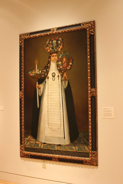 Sor Maria Francisca de san Calletano by Felix Zarate, San Antonio Museum of Art