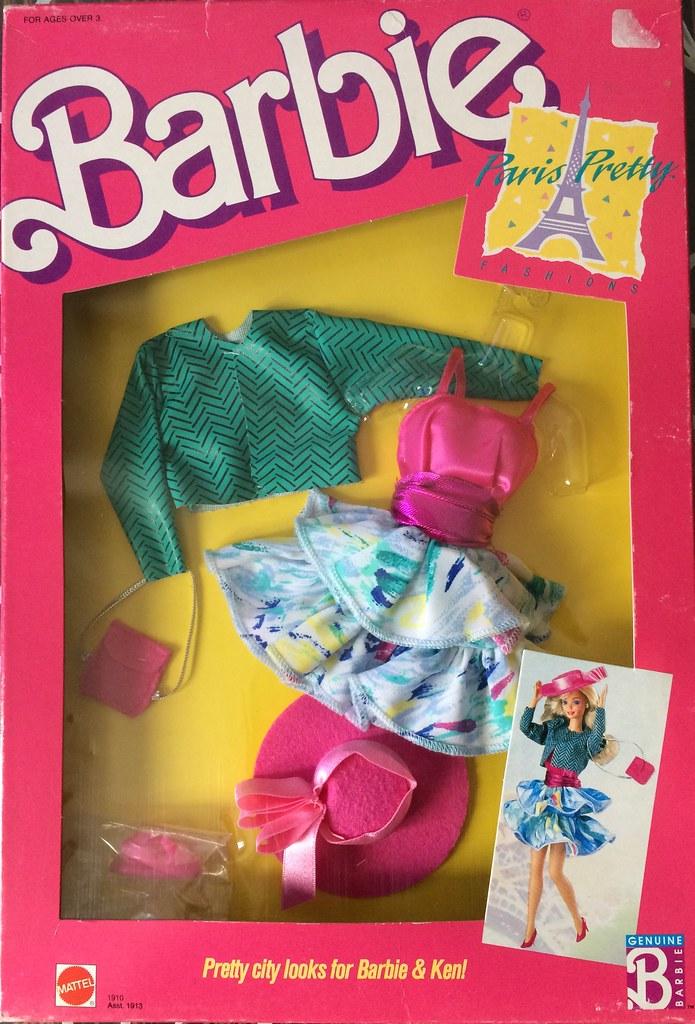 Barbie Superstar Fashions Paris Pretty Fashion 1988 Flickr