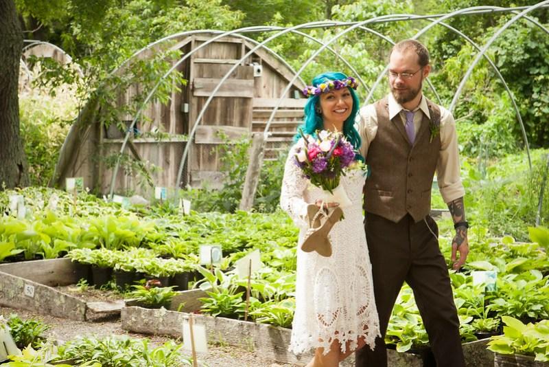 38 boho wedding ideas that give us flowery lacy chills boho wedding ideas from offbeatbride junglespirit Choice Image