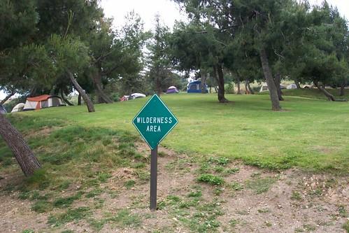 LA Wilderness Area in RV PK