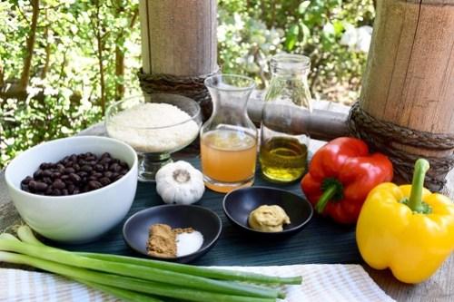 fresh, bright ingredients