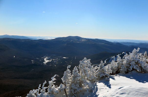 Mt Osceola Summit View Waterville Valley
