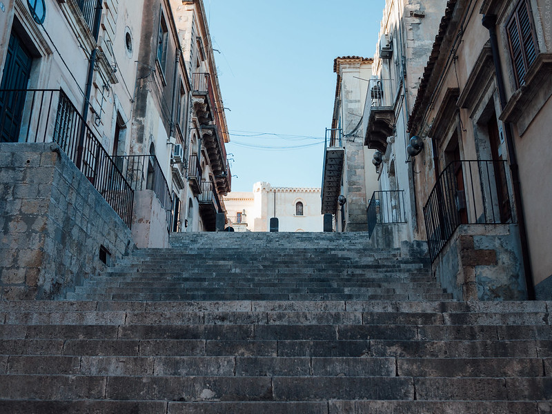 Stairs in Noto